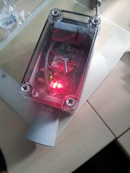 Prototyp mit GPRS Modul
